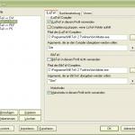 TeXnicCenter Ausgabeprofil HTML (1/2)