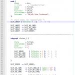 Screenshot wie das im Editor dann aussieht